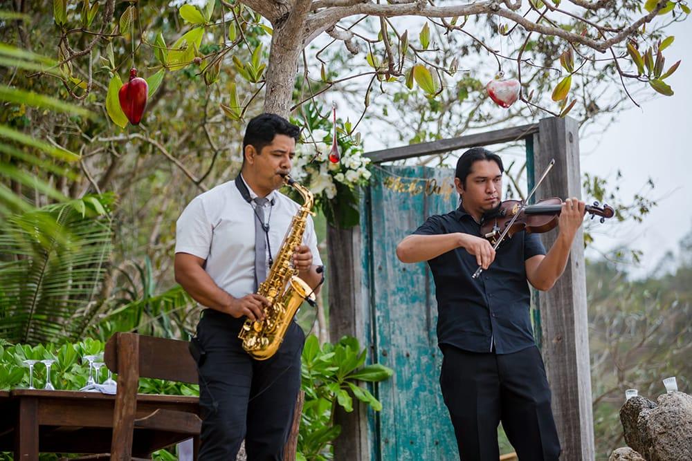 Live music for destination wedding entertainment by Adventure Weddings