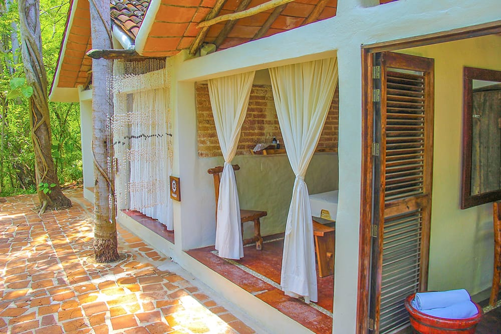 Private bridal spa in Puerto Vallarta for couples and bridal party enjoy before their destination wedding with Adventure Weddings