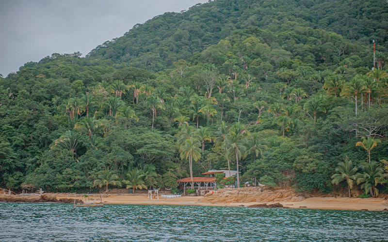 Las Caletas Private Beach for Destination Weddings