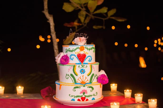 Mexican-Themed Cake