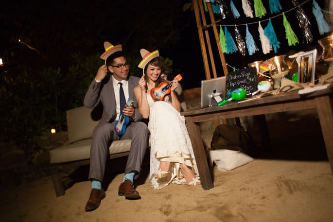 Mexican Props & Photo Booth for Destination Wedding