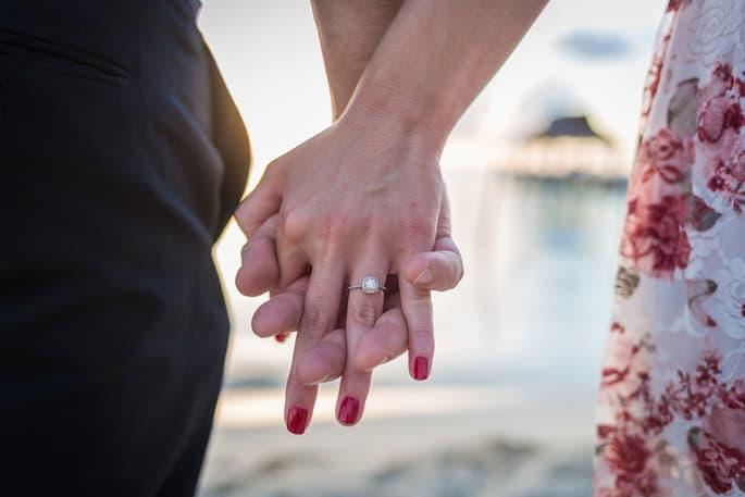 Display Engagement Photos at Wedding