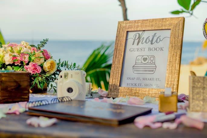 Photo Guest Book for Destination Wedding