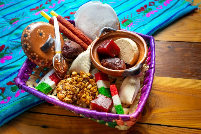 Candy Bar with Mexican Traditional Candy
