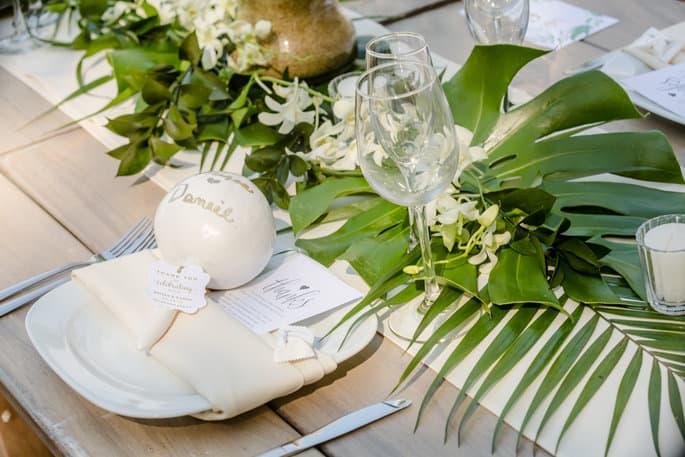 Mexico themed destination wedding