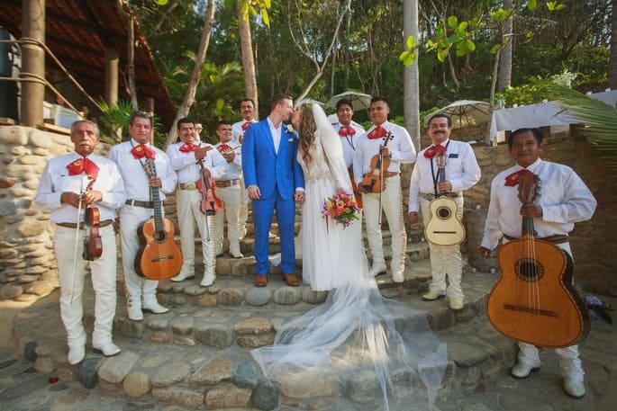 Mariachi Band for Mexico Wedding