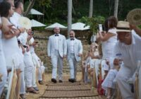 Gay wedding ceremony in Mexico