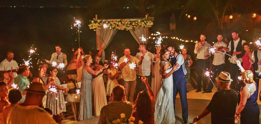 Reception at Las Caletas with the Premier Wedding Package